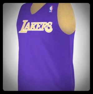 LA Lakers Reversable NBA Jersey New